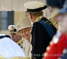 The Queen and The Duke of Edinburgh at the Ceremonial Welcome by The British Monarchy, via Flickr