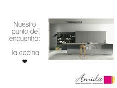 Amida te inspira :)    Ven a visitar nuestra exposición de cocinas. ¡Te esperamos!  ☎ 93 799 99 95 | www.amidacocinas.com