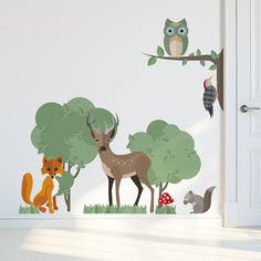 Woodland Creatures – Wall Stickers