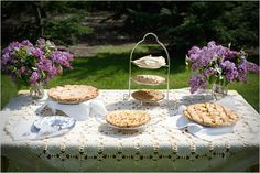 never liked cake that much any way... pie for a wedding what a splendid idea