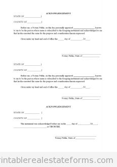 Free Assignment Of Beneficial Interest In A Trust Printable Real Estate  Forms