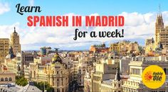 Are you looking for a great Christmas Gift?  Book now an intensive Spanish course in Madrid and get 50€ off!!! The best gift for Spanish language learners.