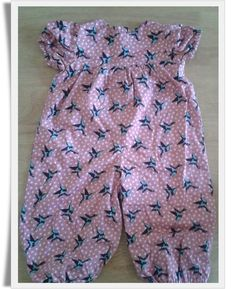 Purple Swallows 'Pandy' Romper, 12-18 months. £15.50