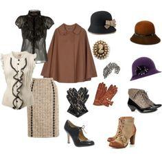 Roanoke Tweed Run: What to Wear to the Tweed Run? Uk Fashion, Autumn Fashion, Vintage Fashion, Fashion Outfits, Vintage Style, Vintage Inspired, Tweed Ride, Fall Capsule Wardrobe, Cool Style
