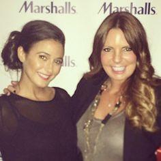 Emanuelle Chriqui and Courtney Cachet, Marshall's Editor Event, NYC #entourage