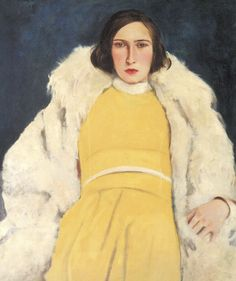 Willy Jaeckel - Dame in Gelb (1928)
