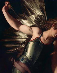 ca 1602 Giovanni Baglione (Italian; 1566-1643) ~ 'The Divine Eros Defeats the Earthly Eros' [detail]
