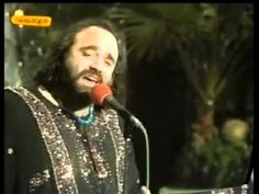 "Demis Roussos ""ADIOS, AMOR ADIOS "" {Version Español} ♥‿↗⁀♫♪♫ - YouTube"