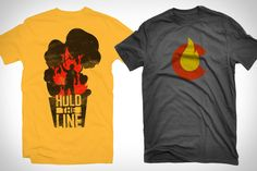 Colorado Wildfire T-Shirts ($20) are designed buy natives of the Centennial State and hand screenprinted in Colorado on Hanes Nano 100% cotton tees. With 100% of the proceeds going to benefit Colorado wildfire relief efforts — half going to the Care and Share Food Bank, and the rest to the Colorado Red Cross