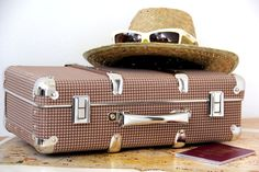 #Kazeto riveted suitcase Suitcase, Box, Design, Snare Drum, Briefcase