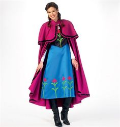 Cosplay sewing patterns and historical costume sewing patterns. Make bodysuits, corsets, capes, gowns, tunics and more for cosplay costumes. Cosplay events listing and cosplay tutorials. Mccalls Sewing Patterns, Simplicity Sewing Patterns, Miss Girl, Winter Princess, Frozen Costume, Costume Patterns, Costume Ideas, Cape Dress, Carnival