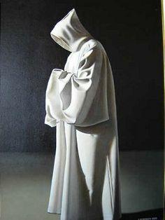 CAPUZ: Vestidura larga y holgada, con capucha y una cola que arrastraba. capuchón o capucha.