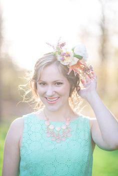 468b4a919ed9 Kentucky Derby-Inspired Bridal Shower Shoot from Lauren Wells Events