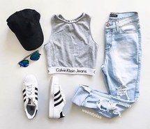 Inspiring image boyfriend, boyfriend jeans, c, calvin, calvin klein #4598722 by…