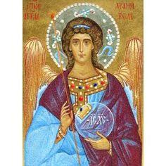 The Guardian Angel, $660.00, Catalog of St. Elisabeth Convent. #CatalogOfGoodDeed #handmade #buy #order #orthodox #Christianity #gift #present #angel #icon #stone http://catalog.obitel-minsk.com/stone-workshop