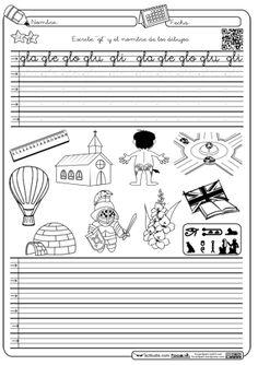 Caligrafia y autodictado en Montessori trabada Gl