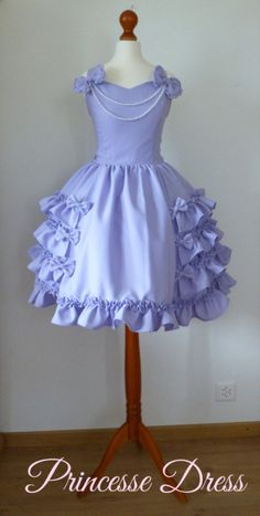 ♥ Princesse ♥ ♥ Lavender jumperskirt with many ruffles & bows and wide skirt - perfect for Sweet or Gothic Lolita style! ♥ The dress is closed Kawaii Fashion, Lolita Fashion, Cute Fashion, Estilo Lolita, Dresses Kids Girl, Kids Outfits, Cute Outfits, Gothic Lolita Dress, Lolita Style