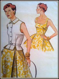 Vogue 1952 design, pattern #2561.