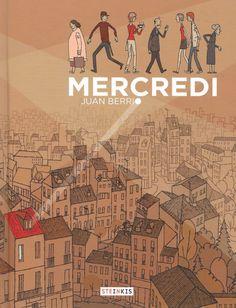Un auteur espagnol talentueux, à découvrir #Steinkis #JuanBerrio  BD : Un mercredi tendre et émouvant