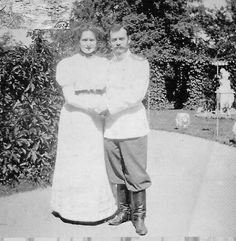Nicholas and Alexandra. ''I'm yours and you're mine, for sure. You're locked in my heart, the key is lost and you have to stay there forever.'' Empress Alexandra Fedorovna in a letter to her husband, Tsar Nicholas II
