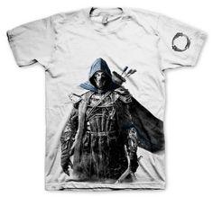 Camiseta Breton. The Elder Scrolls V: Skyrim Original camiseta con el diseño de la estupenda imagen de un Breton, seres medio elfos, una mezcla entre altmer y nede y que son en un intento de crear una raza superior.