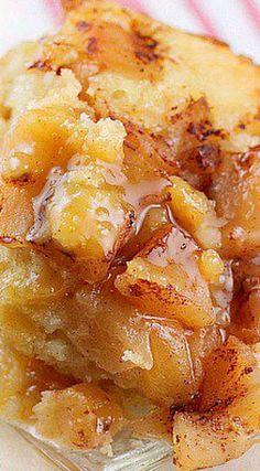 Crock Pot Apple Pudding Cake