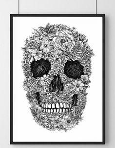 Blooming Skull