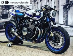 Beautiful custom Yamaha XJR.