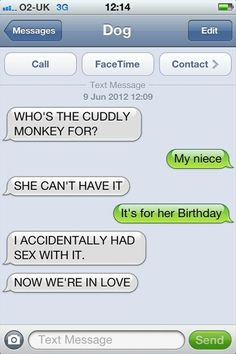 best of dog texts