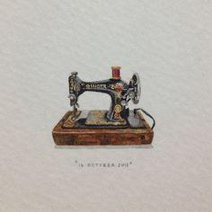 Акварельные миниатюры. Lorraine Loots. | Space of Grace