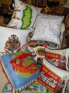 Slightly Mad cushion collection
