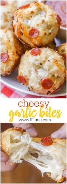 Cheesy and delicious