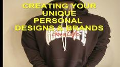 Black Fashion Designers, Custom Embroidery, Vinyl Designs, Screen Printing, Branding Design, Create Yourself, Custom Design, Screen Printing Press, Silk Screen Printing
