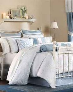Beach Theme Bedding is perfect for Spring and Summer. I personally love beach style bedding because the different shades of blues and aquamarines...