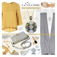 """TOTWOO SMART JEWELRY"" by katjuncica ❤ liked on Polyvore featuring Topshop, MANGO, Tory Burch, H&M, Tom Ford and totwoo"