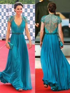 Kate Middleton in Jenny Packham Evening Dresses, Prom Dresses, Formal Dresses, Wedding Dresses, Bride Dresses, Cheap Dresses, Jenny Packham, Looks Kate Middleton, Royal Fashion