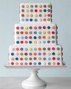 Polkadot cake #visualizeus #daniross