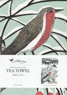 Bringing Back The Tree Tea Towel - Illustrated Living