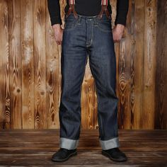 1937 Roamer Pant in 11 oz. denim by Pike Brothers.