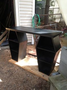 Twin mini coffin desk. I think I've found my new work desk!