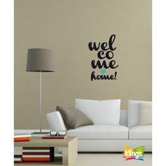 Vinilos Decorativos - Frase de recepcion: Welcome Home, Bienvenidos WALL STICKER…