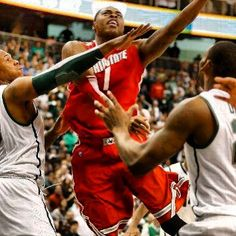 TRIVIA TUESDAY Deshaun Thomas is averaging points per game this season. Only 2 Buckeyes in the last 20 years have scored more than 20 per game in a season. Ohio State Basketball, Basketball Hoop, Ohio State Buckeyes, Trivia, Michigan, Baseball Cards, Sports, 20 Years, Tuesday