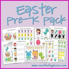 Free Easter Pre-K Printable Pack | Free Homeschool Deals ©