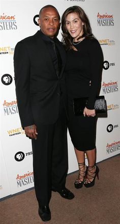 Dr. Dre and wife, Nicole Threatt