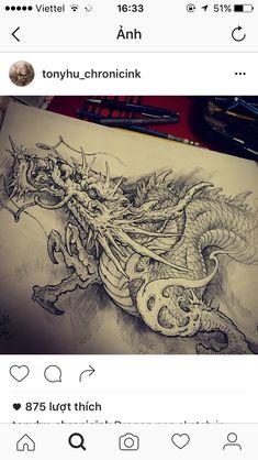 Find the perfect tattoo artist to create the work of art that is you Next Level Tattoo, Dragon Classes, Tatau Tattoo, Tattoo Fonts Cursive, Koi, Dragon Z, Dragon Sketch, Mens Shoulder Tattoo, Japanese Dragon Tattoos