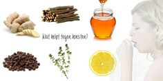 Natuurlijke middeltjes tegen hoesten. Wat kan je doen om hoest te verminderen. Maak thee of drankjes van kruiden of andere middelen die je in huis hebt.