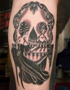 Optical Illusion Tattoo by Kate Hoogland