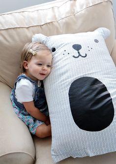 Large stuffed bear