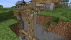Even simple things like that are great! Even simple things like that are great! Plans Minecraft, Minecraft Farm, Minecraft Castle, Minecraft Medieval, Minecraft Survival, Minecraft Construction, Cool Minecraft Houses, Minecraft Tutorial, Minecraft Blueprints