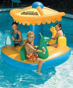 Carousel Float by Swimline #zulily #zulilyfinds